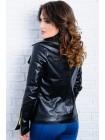 Стильная кожаная куртка Клер