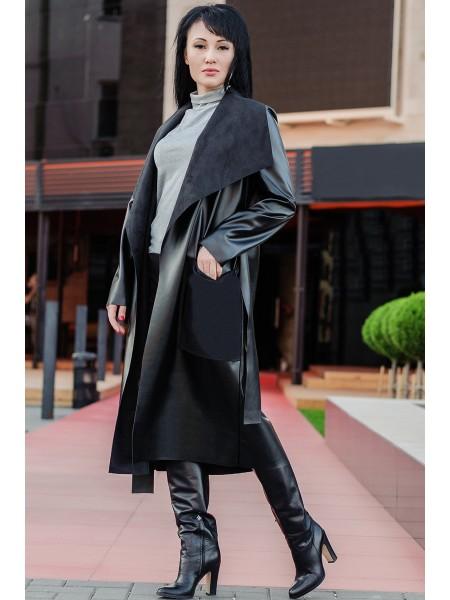 """Пальто из экокожи """"Барселона"""""""