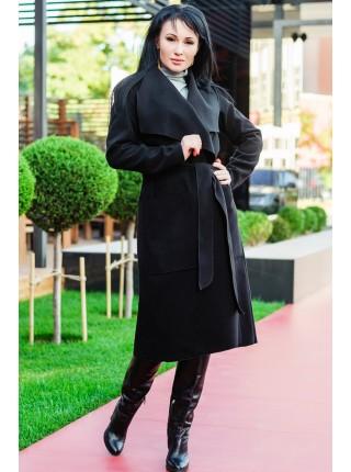 """Демисезонное пальто-халат """"Барселона"""" до р.58"""