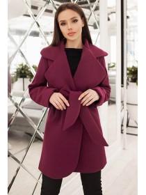 Короткое стильное пальто Альба