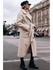 Теплое длинное пальто Берлин