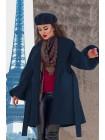Женское пальто - трапеция Майа букле