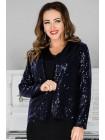 Красивый пиджак с пайетками Латель