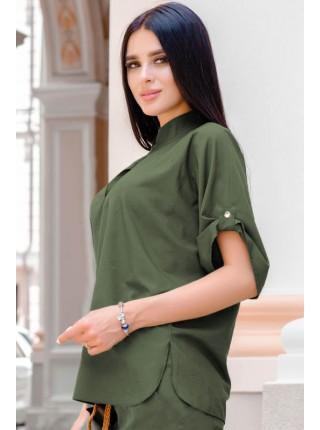 Летняя блузка Фрейм софт