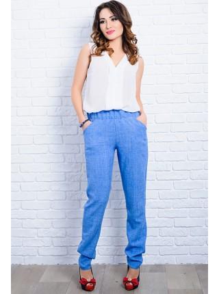 Летние льняные брюки Крит