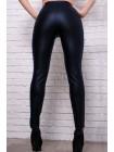 Облегающие кожаные брюки Лиора