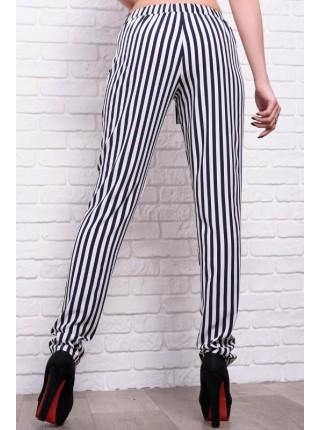 Женские брюки  в полоску Радмила