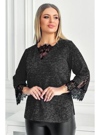 Женственная теплая блузка Мидея