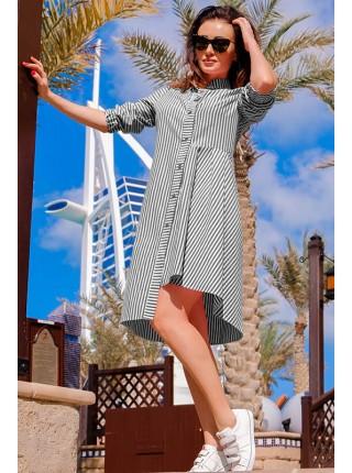 Женское платье в полоску Герда