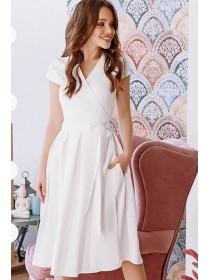 Легкое платье на запах Лусия