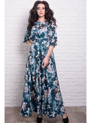 Красивое платье с цветами Ванесса