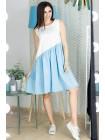 Молодежное платье с асимметрией Твист
