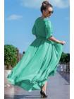 Шифоновое платье макси Инесса, 7 цветов