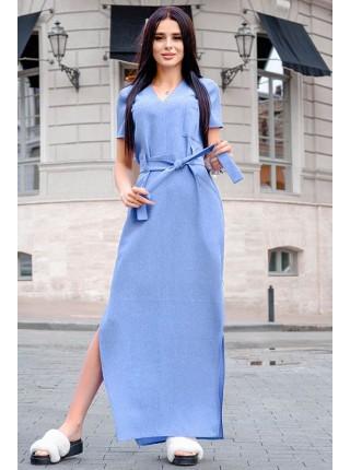 Женское летнее платье Темми лен