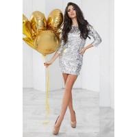 Нарядное платье с пайетками Шайн