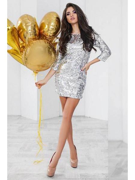 Ошатне плаття з паєтками Шайн ... 4701545ddfb54