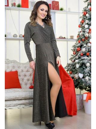 Длинное вечернее платье Валери