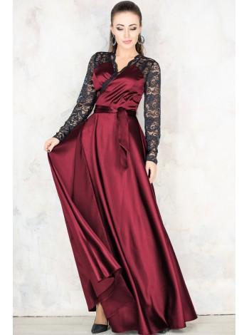 Длинное вечернее платье Сатира