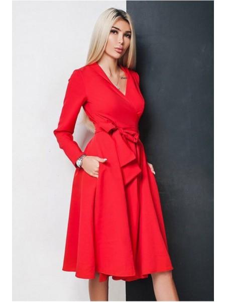 Платье на запах Аврора