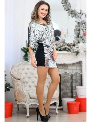 Красивое платье с пайетками Спайс