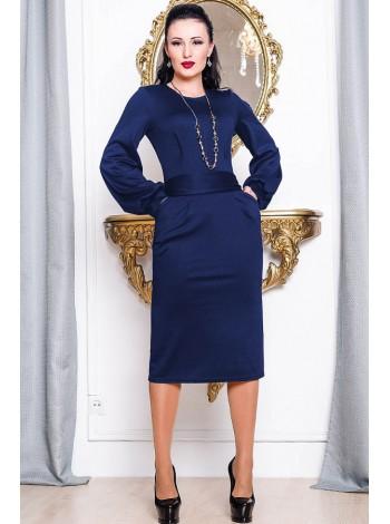 """Классическое трикотажное платье """"Dior"""""""