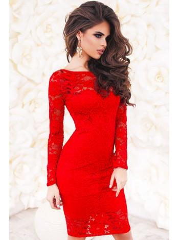 Кружевное платье Белиссимо