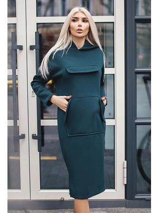 """Платье с капюшоном """"Женева"""" до р. 60"""
