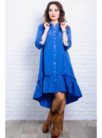 Платье из натуральной ткани Флора