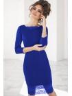 Облегающее платье с кружевом Ясмина
