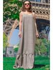 Женское льняное платье Мирель
