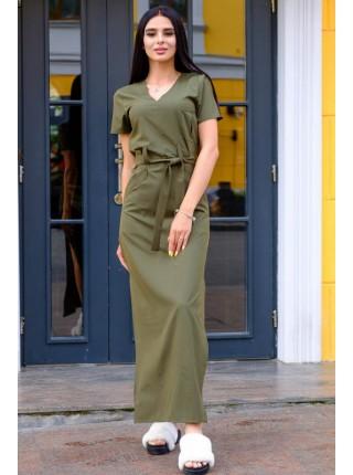 Длинное стильное платье Темми софт