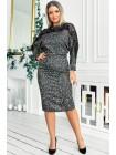 Женское недорогое платье Альберта меланж