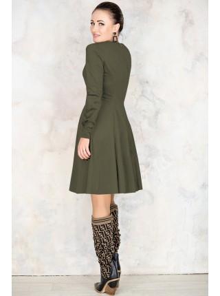 Модное платье из замши Арманда