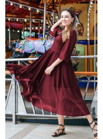 Красивое платье из шифона Ренессанс