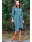 Демисезонное джинсовое платье Герда