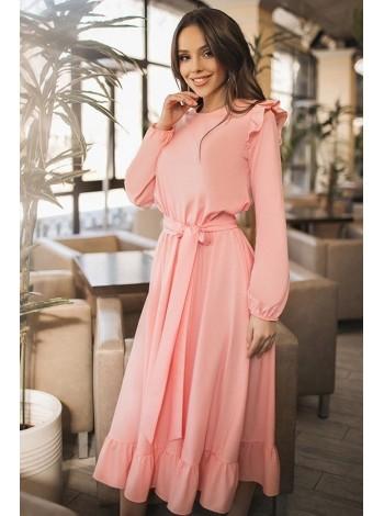 Женское платье с длинным рукавом Авентура