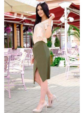 Летняя юбка на запах Бони софт